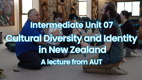 Cultural Diversity and Identity in New Zealand /A lecture from AUT
